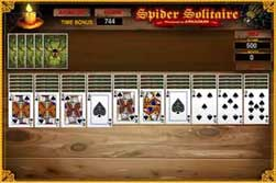 the juegos dipl... Grandfather's Clock Solitaire